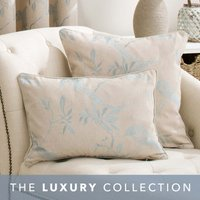 Songbird Duck-Egg Cushion Blue / Cream