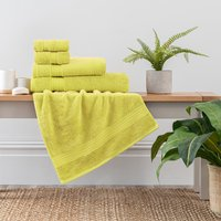 Lime Egyptian Cotton Towel Lime (Green)