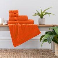Burnt Orange Egyptian Cotton Towel Burnt Orange