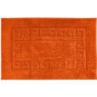 Luxury Cotton Non-Slip Bath Mat Orange