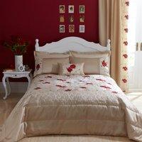 Juliet Red Bedspread Red & Brown