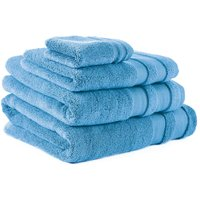 Blue So Soft Zero Twist Towel Blue