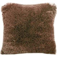 Fine Furry Cushion Taupe