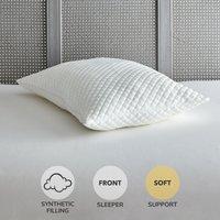 Huggable Soft-Support Pillow White