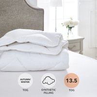 Dorma Full Forever 13.5 Tog Duvet White
