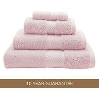 Dorma Rose Silk Blend Towel Rose (Pink)
