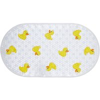Duck Bath Mat White / Yellow