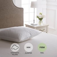 Dorma Continental Firm-Support Pillow White