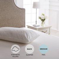 Dorma Full Forever Kingsize Medium-Support Pillow White