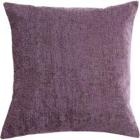 Large Chenille Mauve Cushion Mauve