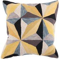 Prismatic Cushion Yellow