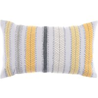 Retro Stripe Cushion Yellow