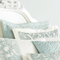 Evie Butterfly Duck Egg Pillow Sham Duck Egg Blue