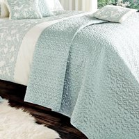 Evie Butterfly Duck-Egg Bedspread Duck Egg Blue
