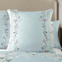 Dorma Maiya Duck Egg Continental Pillowcase Duck Egg Blue