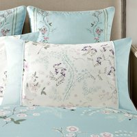 Dorma Maiya Duck Egg Double Cuff Pillowcase Duck Egg Blue
