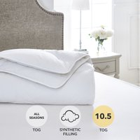 Dorma Full Forever Anti Allergy 10.5 Tog Duvet White