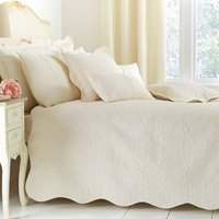 Ebony Cream Bedspread Cream