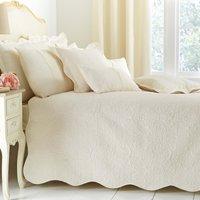Ebony Cream Bedspread Cream
