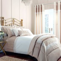 Gatsby Embroidered Gold Duvet Cover Gold