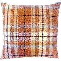 Tweed Woven Cushion Terracotta