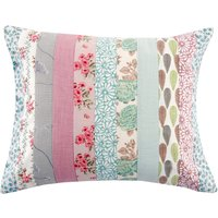 Melange Cushion Blue / Pink