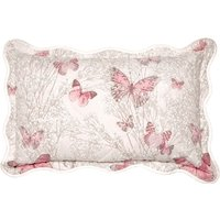 Botanica Butterfly Blush Pillow Sham Pink