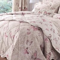 Botanica Butterfly Blush Bedspread Blush Pink