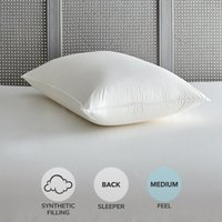Dunlopillo Latex Wrap Medium-Support Pillow White