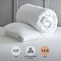 Supersoft 13.5 Tog Duvet White