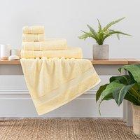 Lemon Egyptian Cotton Towel Lemon (Yellow)