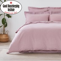 Non Iron Plain Dye Heather Duvet Cover Plain Dye Heather
