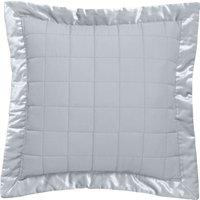 Claudia Grey Square Cushion Grey