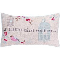 Evelyn Duck-Egg Boudoir Cushion Duck Egg Blue