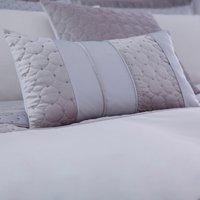 Vienna Silver Boudoir Cushion Grey / Silver