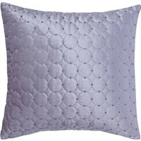 Vienna Silver Square Cushion Grey / Silver