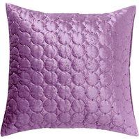 Vienna Heather Square Cushion Lilac