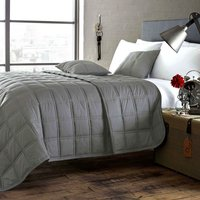 Salvage Grey Bedspread Grey