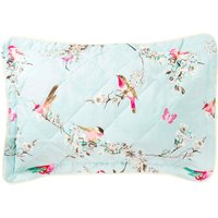 Beautiful Birds Duck-Egg Pillow Sham Duck Egg Blue