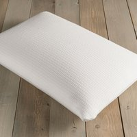 Rebound Memory Foam Firm-Support Pillow White