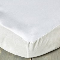 Staydrynights Waterproof Cotton Soft Mattress Protector White