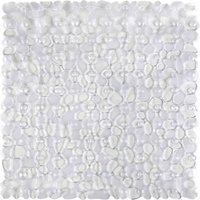 Pebbles Clear Shower Mat Clear