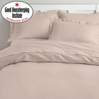 Non Iron Plain Dye Taupe Duvet Cover Taupe (Cream)