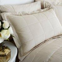 Antique Lace Cream Pillow Sham Cream