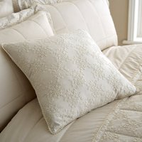 Antique Lace Cream Cushion Cream