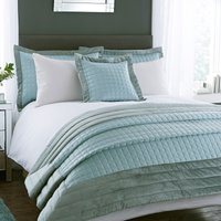 Kensington Duck Egg Bedspread Duck Egg Blue