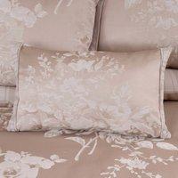 Laura Natural Jacquard Boudoir Cushion Cream