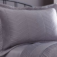 Owen Grey Pillow Sham Grey