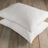 White Hotel Pima Cotton Firm-Support Pillow Pair White