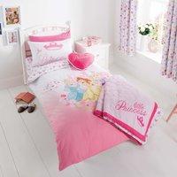 Disney Princess Duvet Cover Set Pink / Blue